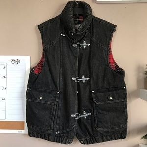 VTG Polo Ralph Lauren Mens Heavy Duty Jean Vest